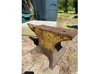 Large antique anvil