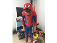 Boys onsie spider man age 5-6
