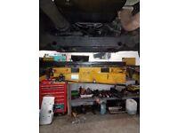 1.5 tonne adjustable jacking beam