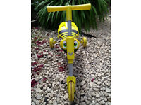 Scuttlebug ride on. Yellow and in very good condition