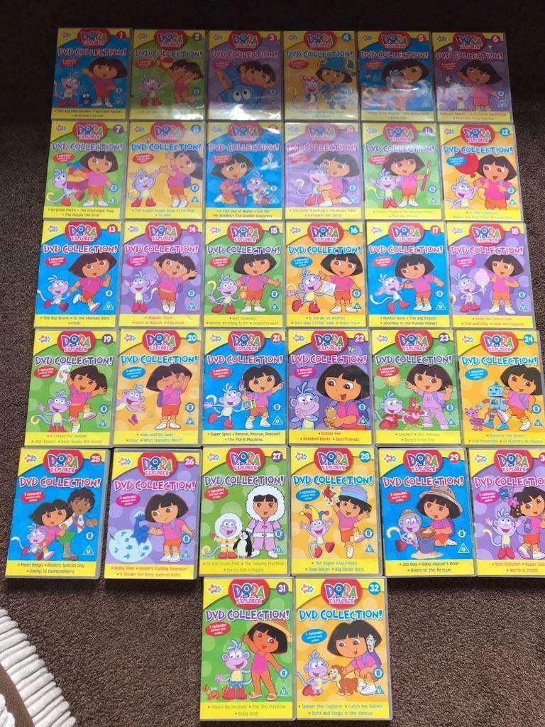 Dora The Explorer Complete Dvd Set In Bedminster