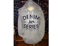 Women's Denim73 Grey Hoodie