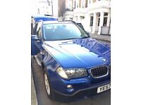 BMW X3 2.0 20d SE 5dr, full service history, Parking aid, built-in Bluetooth added, leather