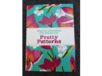 [PAPERBACK] PRETTY PATTERNS CREATIVE COLOURING BOOK FOR GROWN-UPS - ART CRAFT