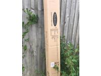 Royalcraft brand new boxed 3m grey delux parasol tilt and crank
