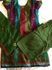 Punjabi style salwar kameez Asian suit
