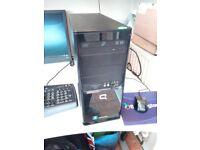 HP Compaq Windows 7 computer