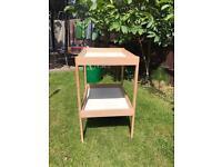 Baby change table £5