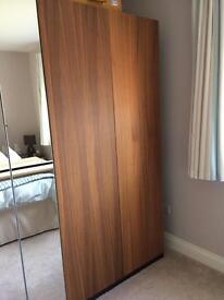Ikea Pax Stockholm Walnut Doors x 4