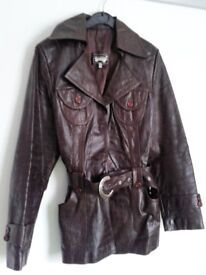 Real leather stylish jacket for cheap!