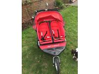 Out n about nipper 360 double buggy for sale