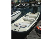 Orkney 424 Dory Boat (like Dell Quay, Boston Whaler) 14ft with 40hp Mercury