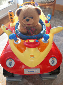 Baby bouncer - Rocking Jitter Bug, Red Car