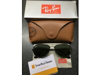 Ray-Ban Cockpit RB3362 004/56 Grey/Green Sunglasses