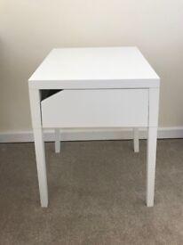 IKEA SELJE bedside table white