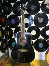 Richwood guitar,stand,case and tuner