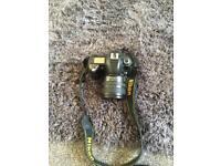 Nikon camera and af-s lens