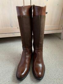 4d6b7799c46 Women s Shoon leather boots