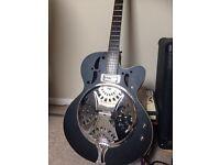 Harley Benton resonator guitar