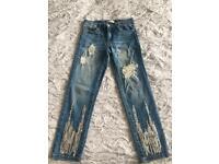 Zara girls jeans/ trousers age 10