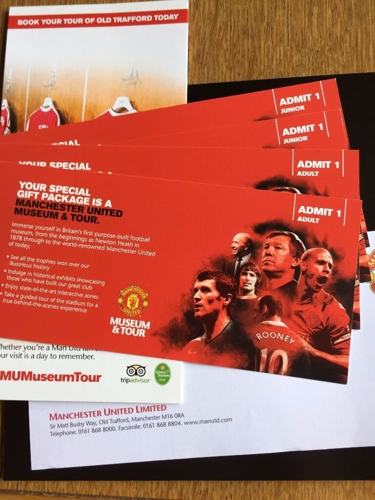 Manchester united museum stadium tour family tickets 2xadult manchester united museum stadium tour family tickets 2xadult 2xjunior voltagebd Image collections