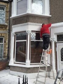 CHC bricklaying and painting and cleaning work