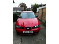 SEAT IBIZA FOR SALE - 10 MONTHS MOT