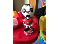 Manchester United ball man with nodding head