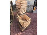 Wooden crates - wedding, events, rustic, furniture