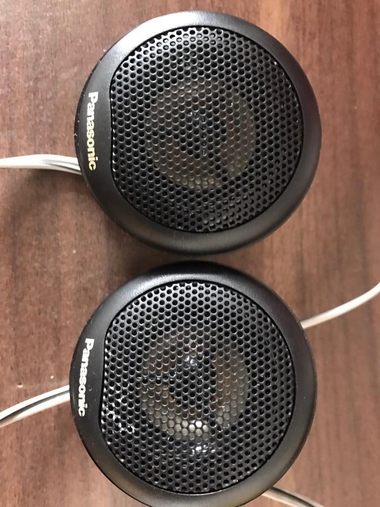 Panasonic tweeters - 1 inch