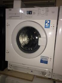 NEW**Built-in / Integrated Beko 7kg 1500rpm A+++ washing machines NEW - never been used SALE ON