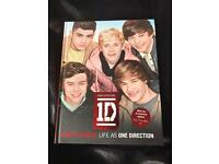 One direction hard back book