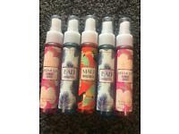 Bath and bodyworks anti bacterial handsprays