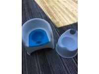 Two potties