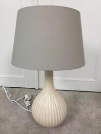 Lamp Ikea shade, homesense base