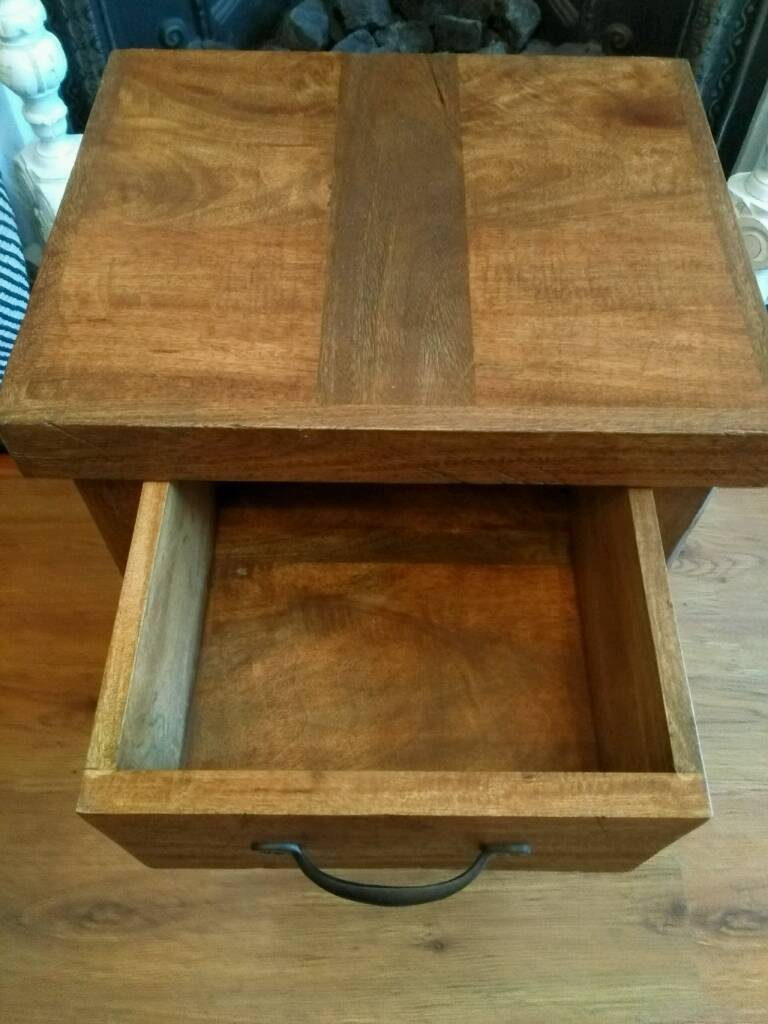 NEW Solid Wood Side Table/ Bedside Table.