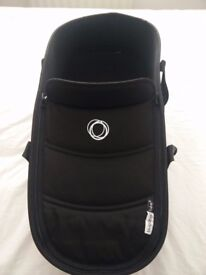 Bugaboo Bee5 Carrycot + Base with adapters - Black - Excellent Condition