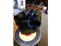 Skybolt black 10 x 50 Optics Binoculars and case seeing glasses