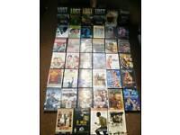 Joblot bundle of 40 dvds including box sets scifi horror romance action etc