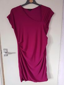 Purple dress size 14 - River Island