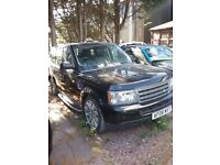 Range Rover Sport 2.7tdi,2008 spare or repair engine damage