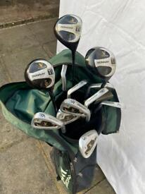 Full set of Donnay Golf clubs
