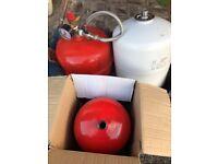 expansion cylinder pressure vessels