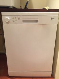Beko dishwasher full size around 8month old in good condition