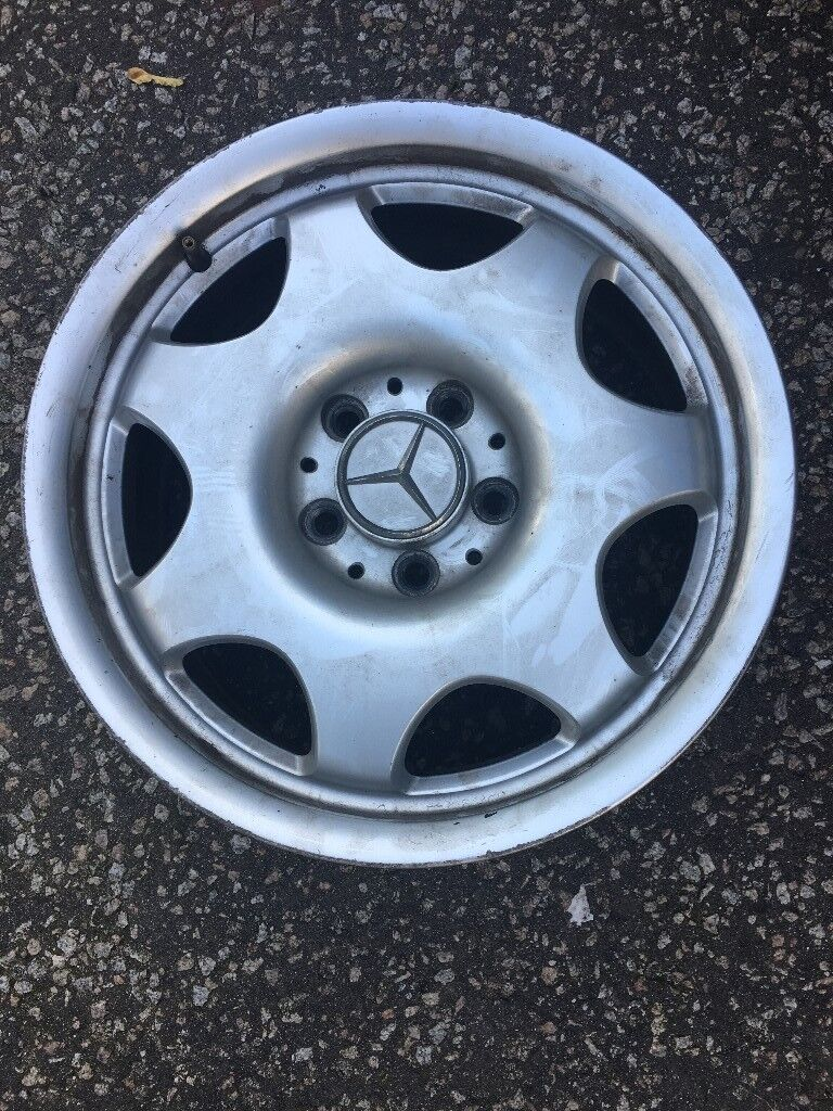 """Mercedes 16"""" alloys"""