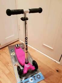 Micro maxi scooter 6 flashing wheels