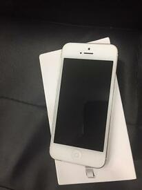 I phone 5 immaculate condition unlocked