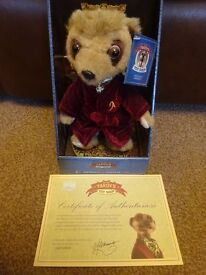 New Boxed with Certificate Plush Aleksandr Compare the Meerkat com £8 ideal gift