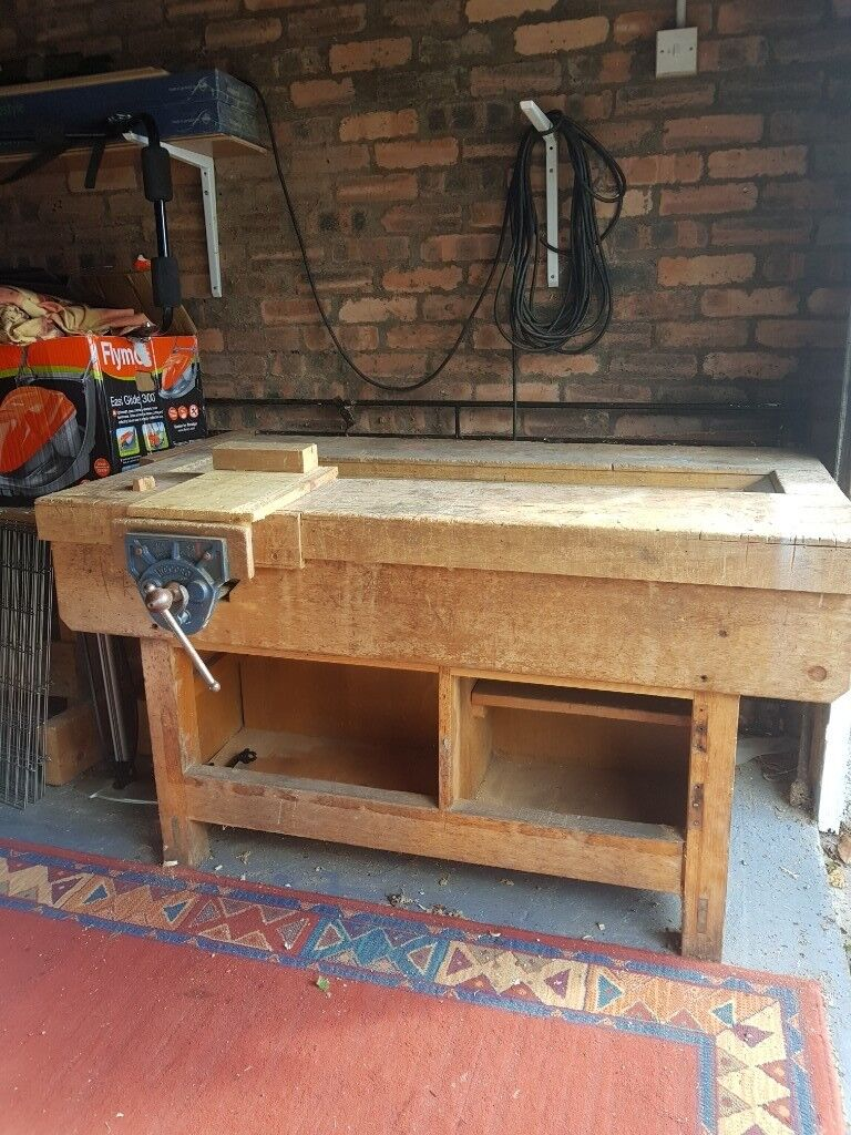 Old School Woodworking Bench In Alloa Clackmannanshire Gumtree
