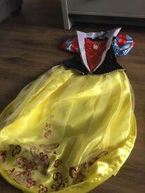 BNWT Snow White dresses and shoes